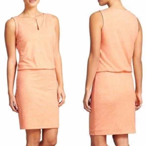 Athleta Dresses & Skirts - Athleta Vida blouson stretch linen blend dress S